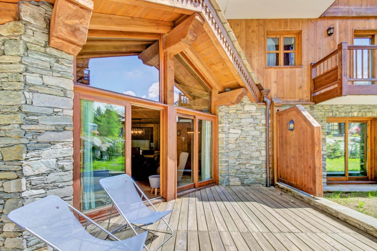 rent villa Val d'Isère