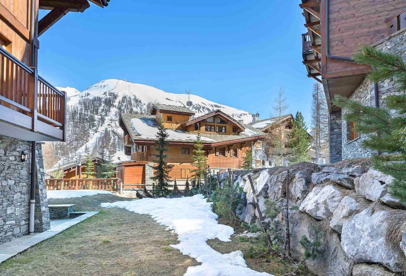 val d'isere chalets Galeane