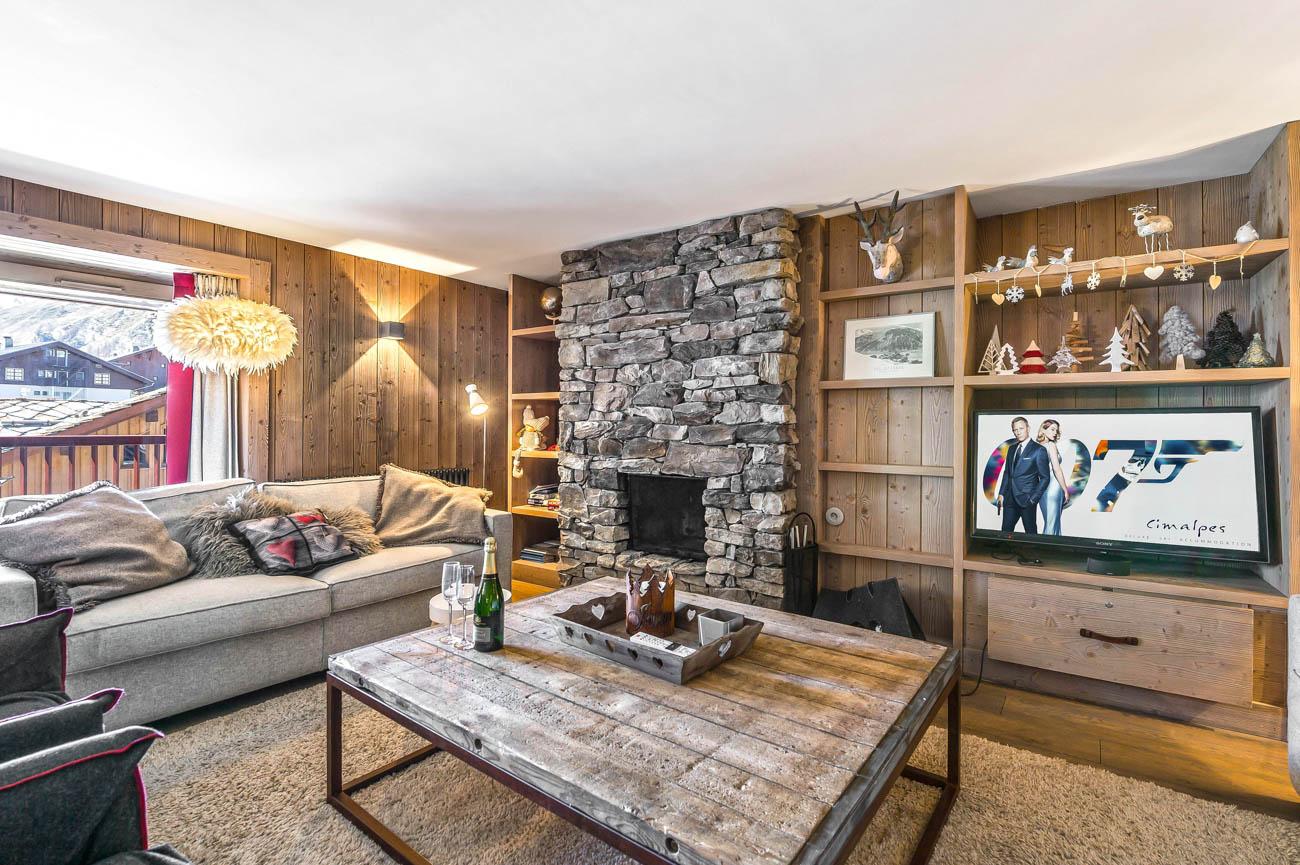 luxury rental house Val d'Isère